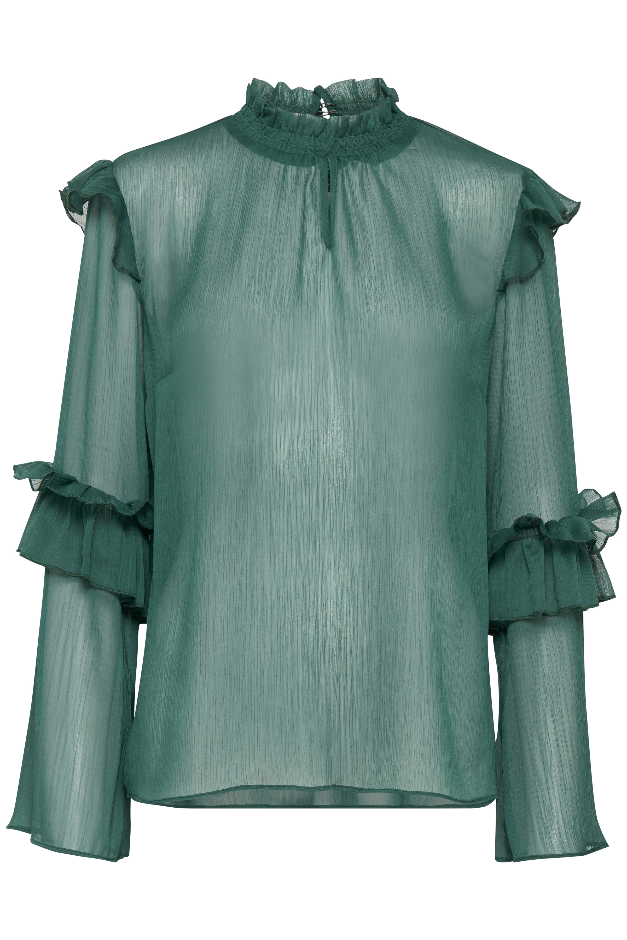 Amazon Green Langærmet bluse – Køb Amazon Green Langærmet bluse fra str. XS-XXL her