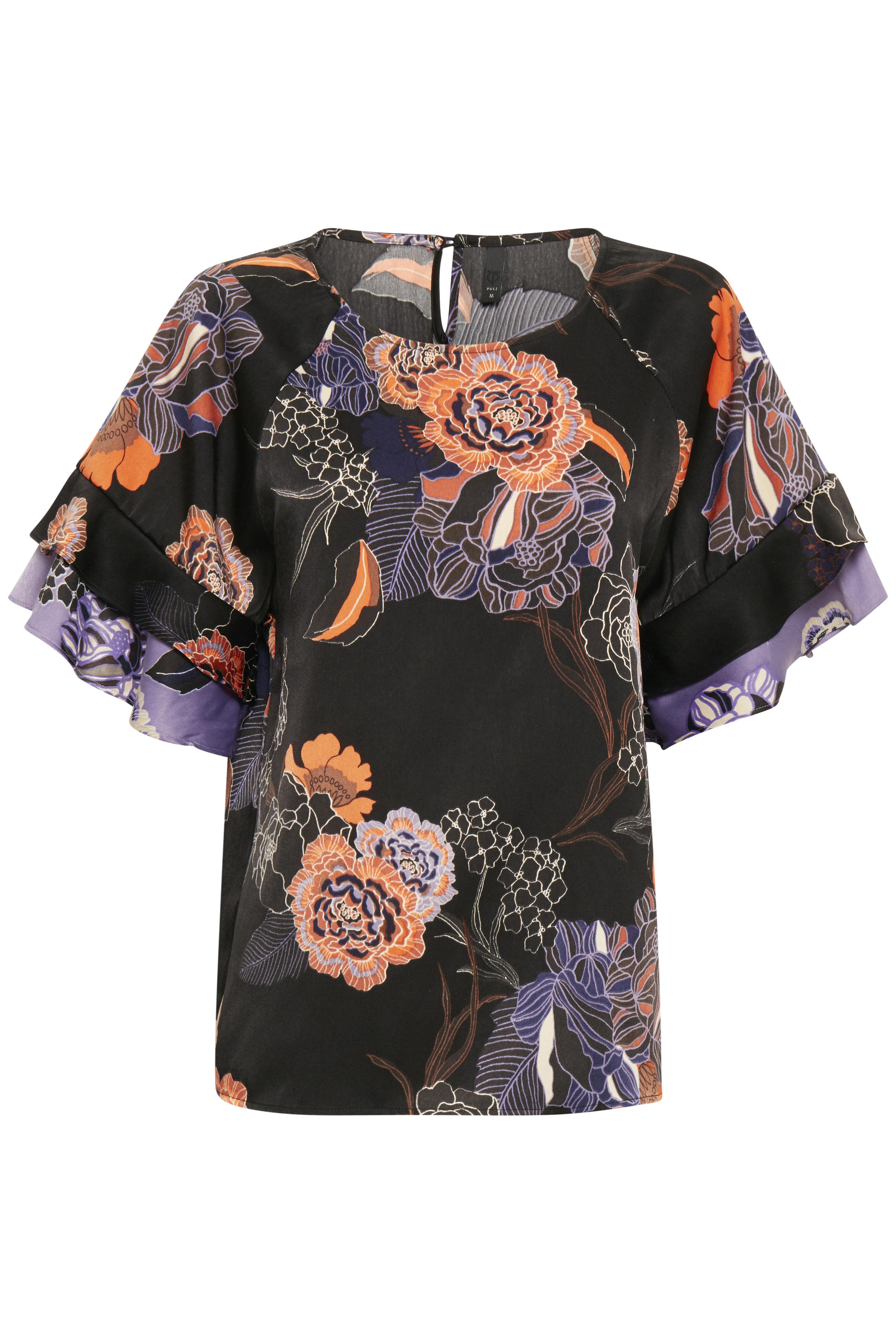 Black Kortærmet bluse – Køb Black Kortærmet bluse fra str. XS-XXL her