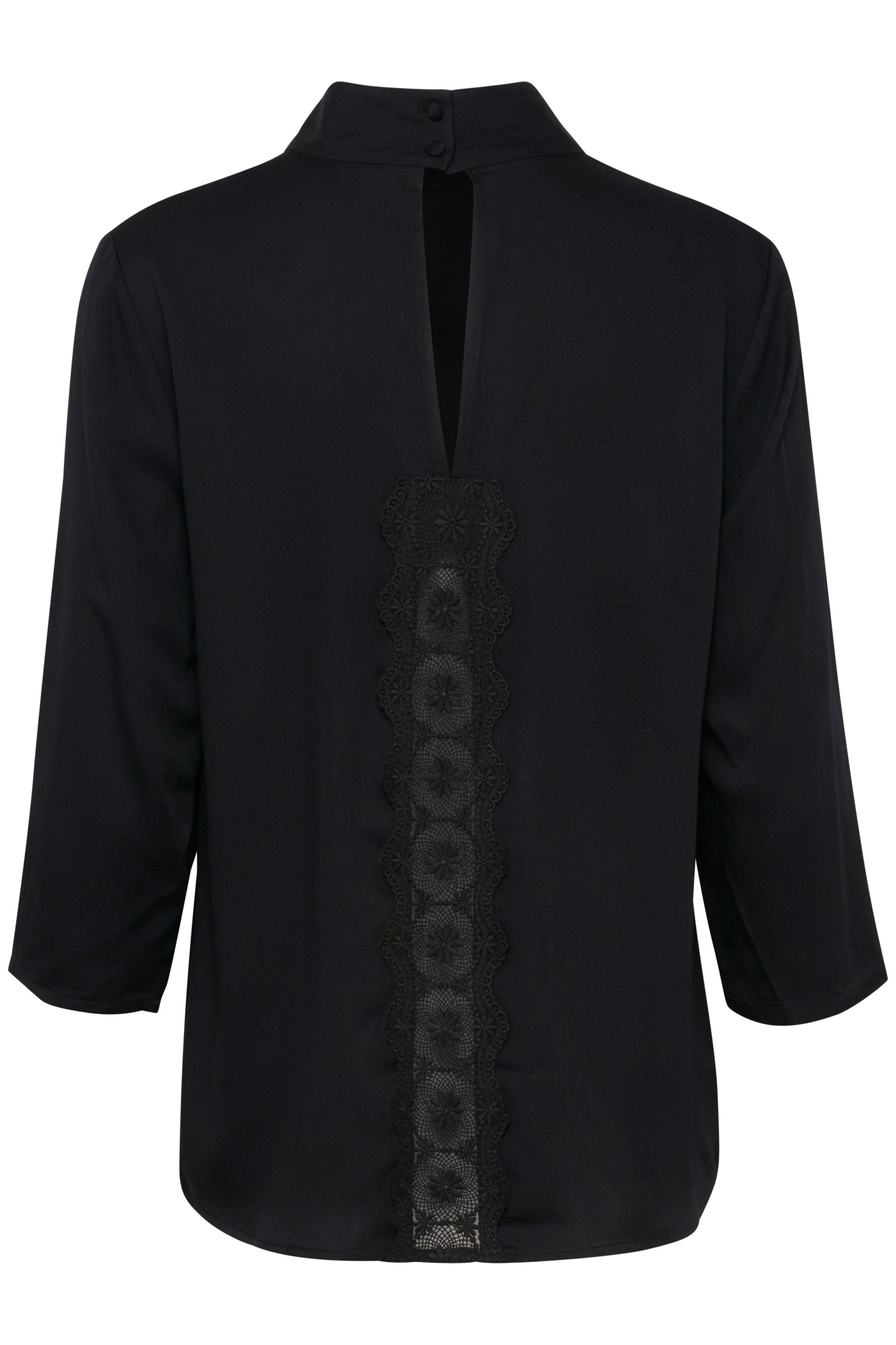 Black solid Langærmet bluse – Køb Black solid Langærmet bluse fra str. XS-XXL her