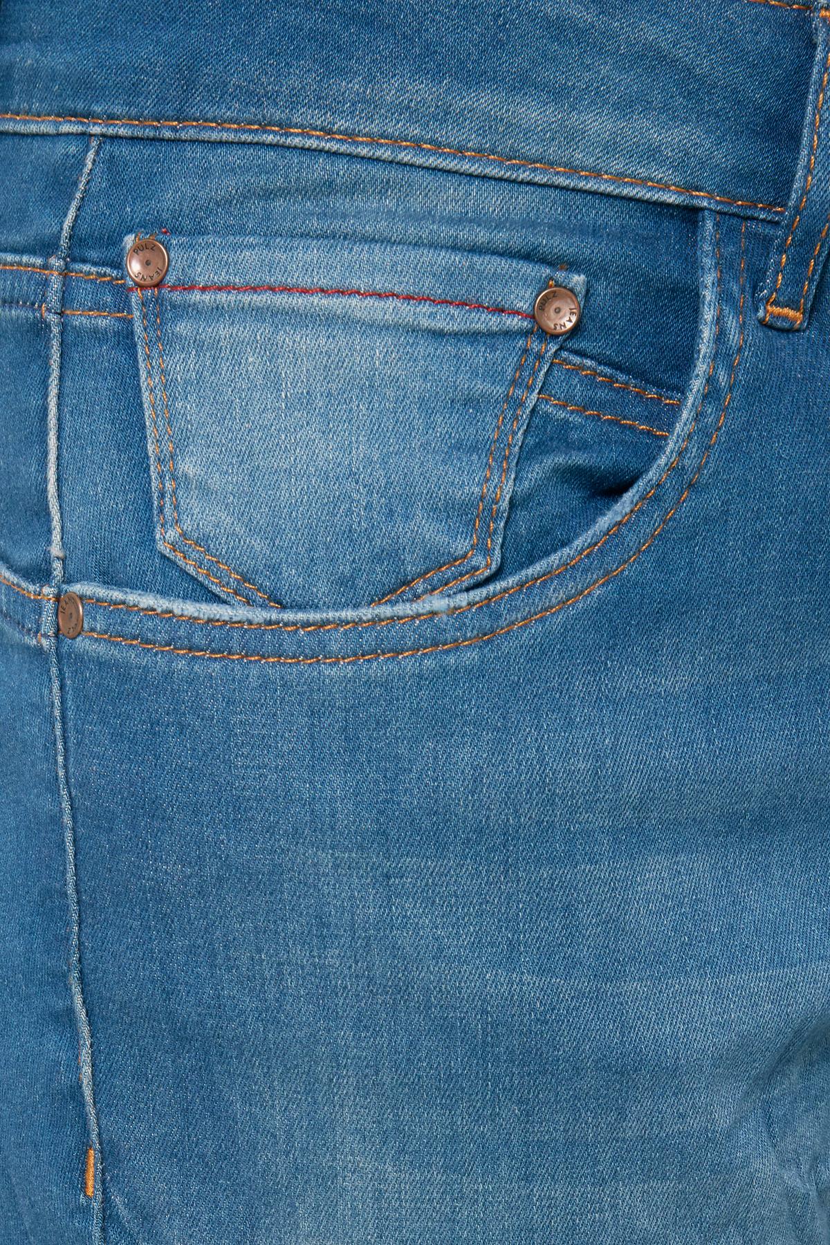 Bright Blue Denim PZ MAIKEN LOOSE JEANS – Køb Bright Blue Denim PZ MAIKEN LOOSE JEANS fra str. 28-34 her