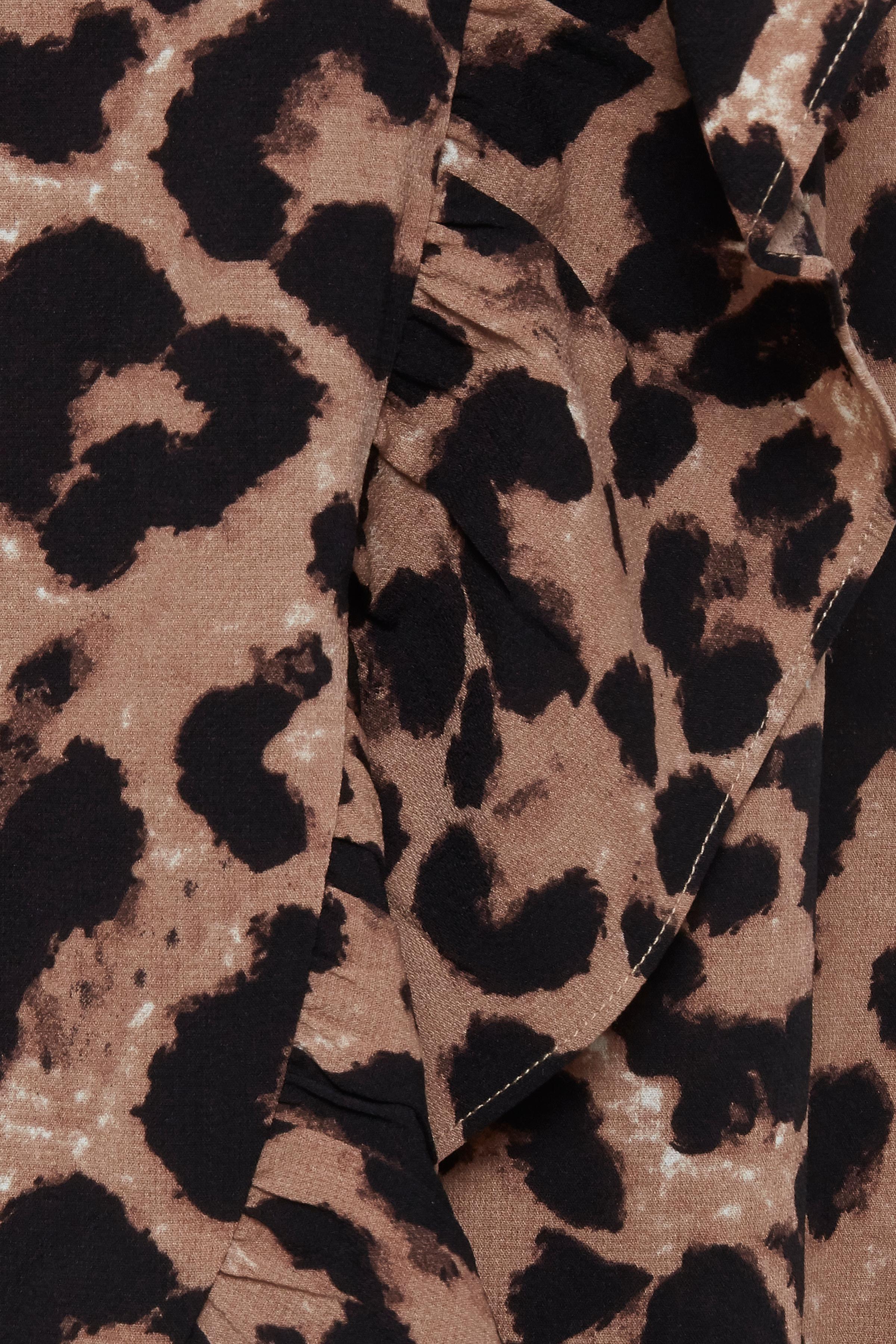 Leopard Sand print Nederdel – Køb Leopard Sand print Nederdel fra str. XS-XXL her