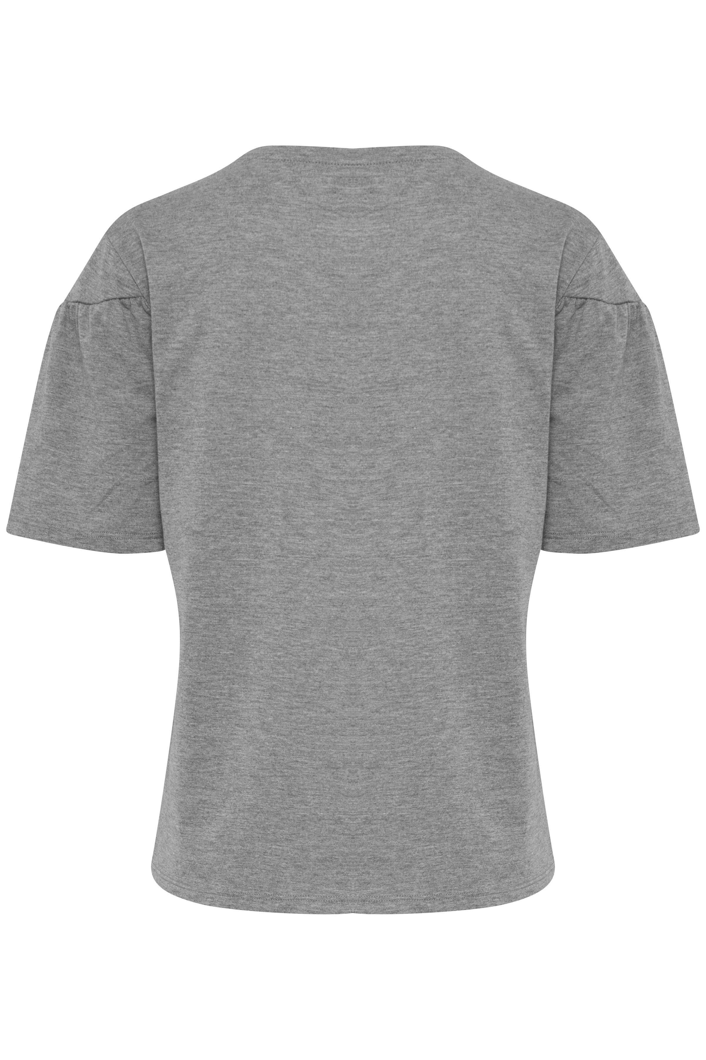 Light Grey Melange T-Shirt – Køb Light Grey Melange T-Shirt fra str. XS-XXL her