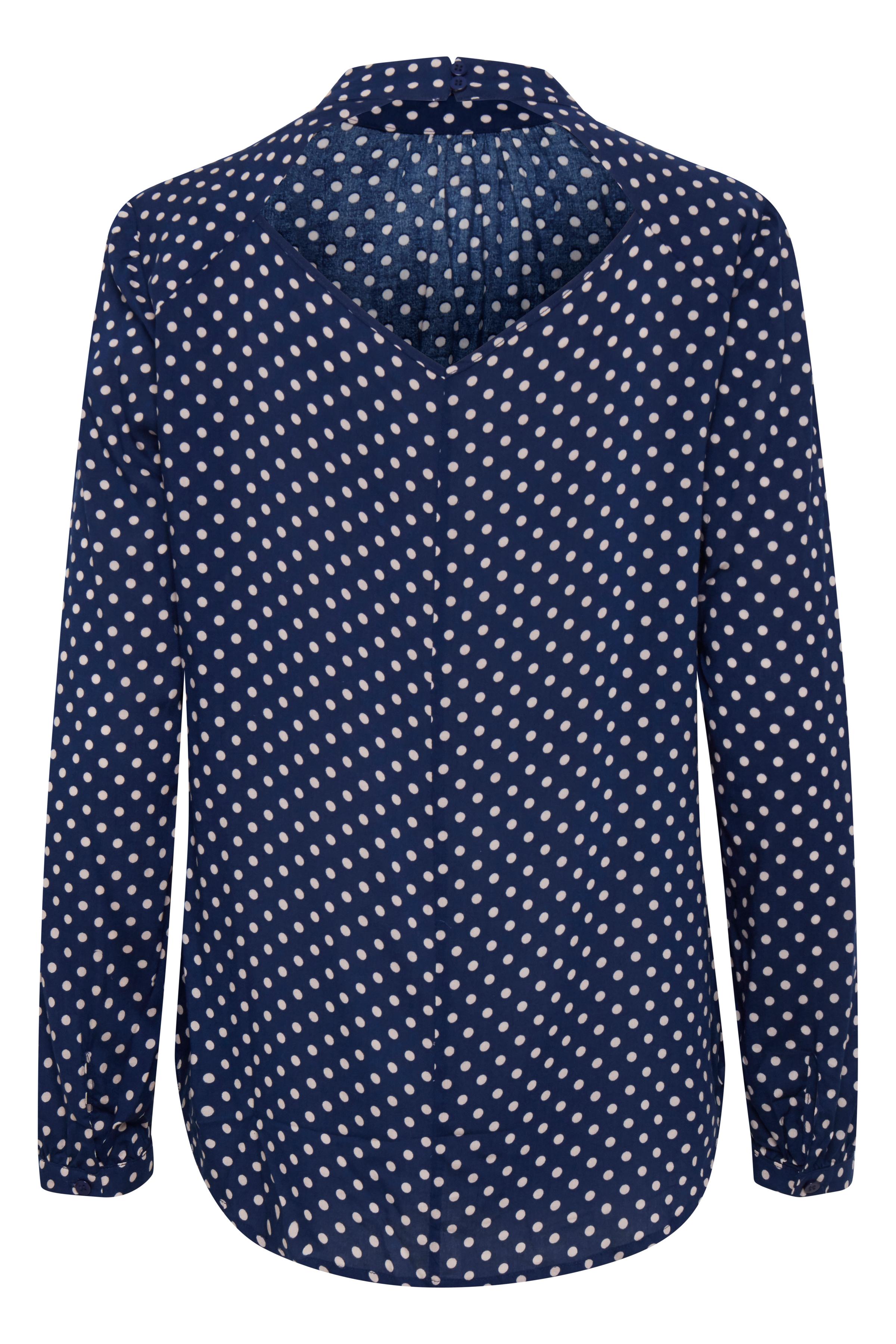 Twilight Blue Bluse – Køb Twilight Blue Bluse fra str. XS-XXL her