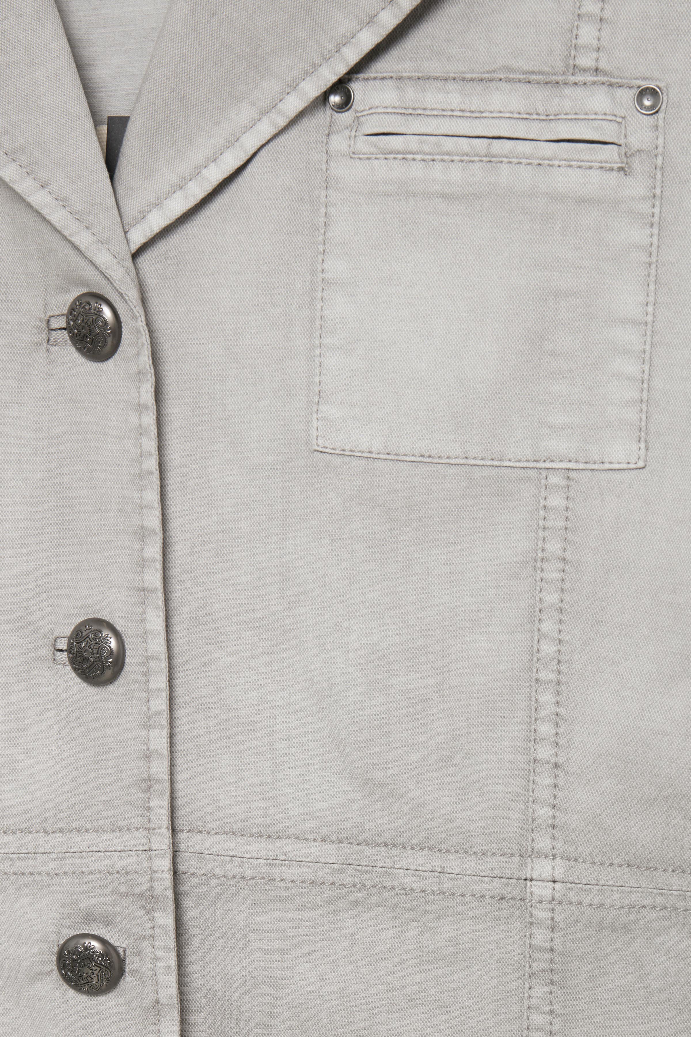 Washed Grey Jakke – Køb Washed Grey Jakke fra str. XS-XL her